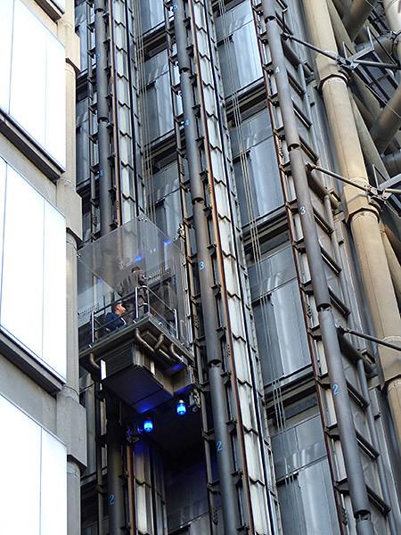ascenseurs d ela Lloyd's