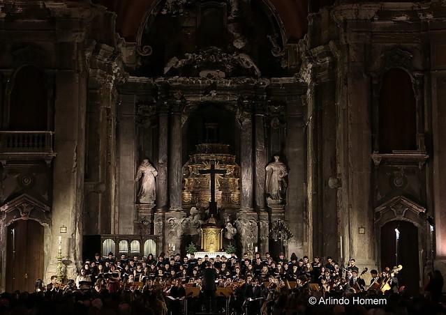Igreja de S. Domingos - Orquestra e coro Sinfónico da Escola Superior de Música de Lisboa