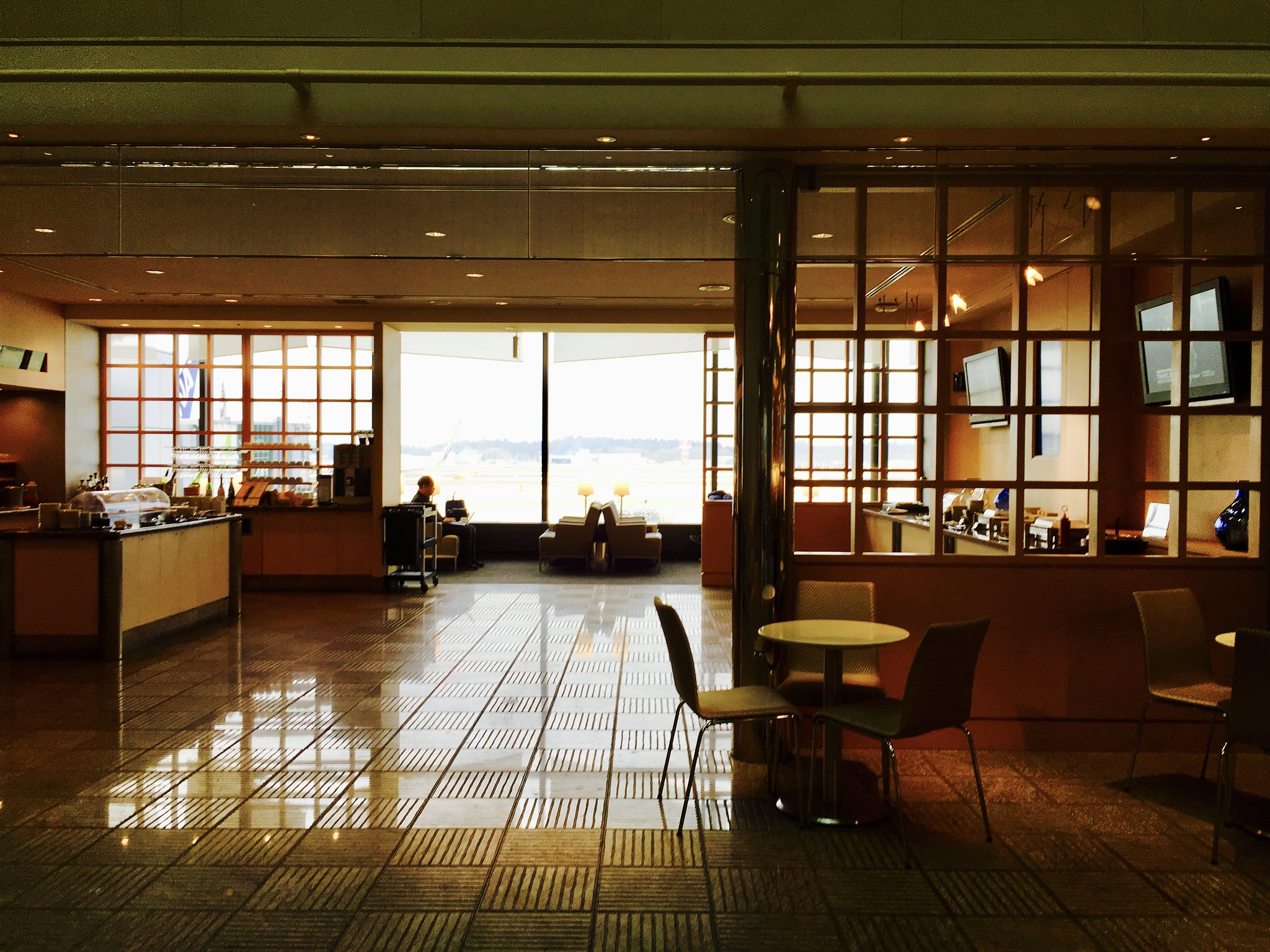 Narita Airport Terminal 1 United Club Lounge