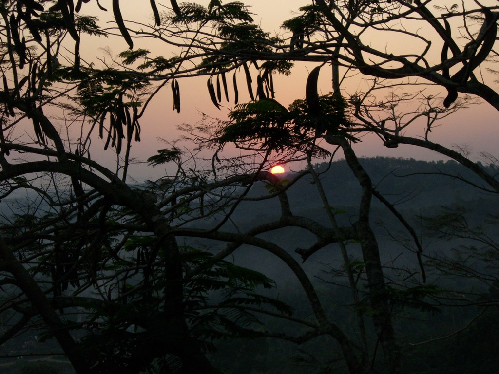 Ashram kokemuksia | Auringonlasku