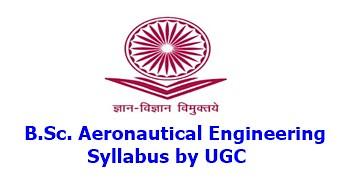 bsc aeronautical engineering syllabus