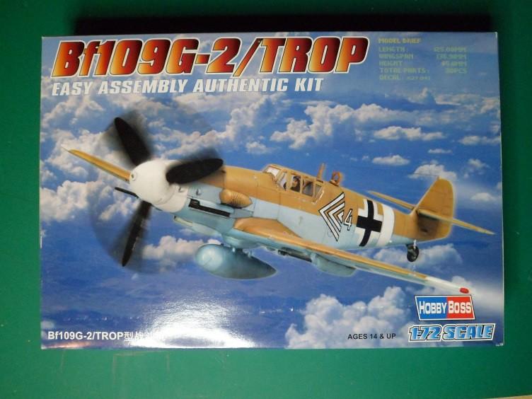 Ouvre-boîte Messerschmitt Bf 109 G-2 Trop [Hobby boss 1/72] 32352577906_b1a2d2d232_b