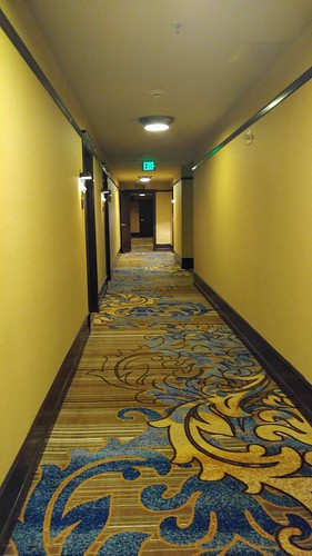 Hallway at the Arctic Club Seattle