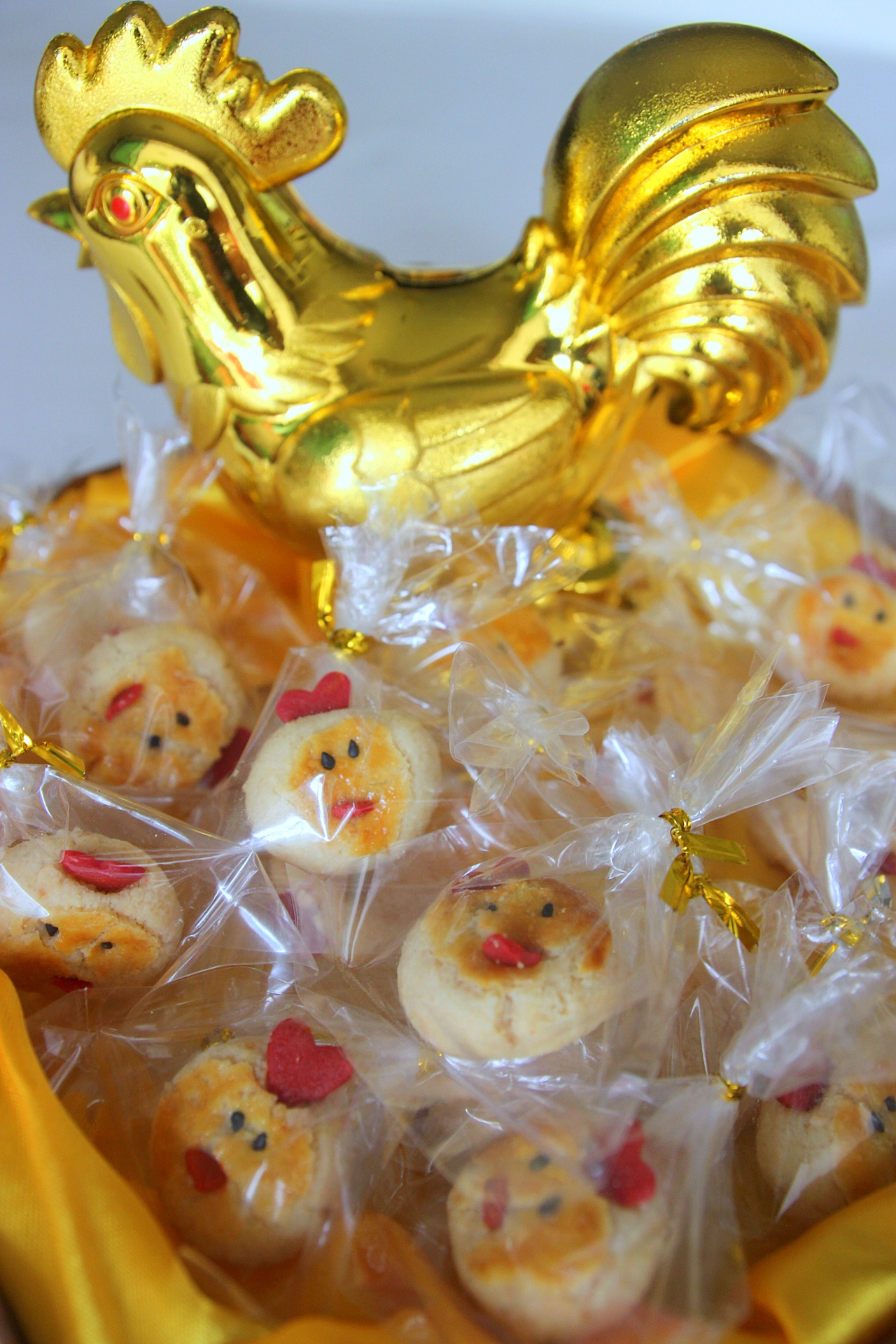 Rooster Year Cookies