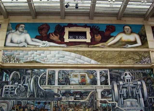 Diego rivera mural detroit institute of arts maia c for Diego rivera mural san francisco art institute