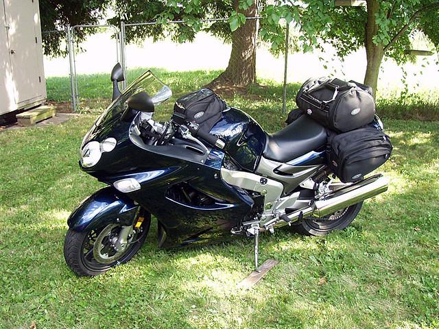 Kawasaki Saddle Bags