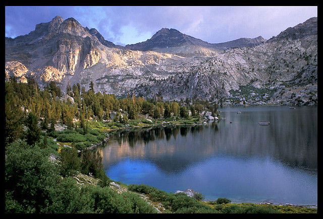 Rae Lakes Kings Canyon National Park This Shot Is From