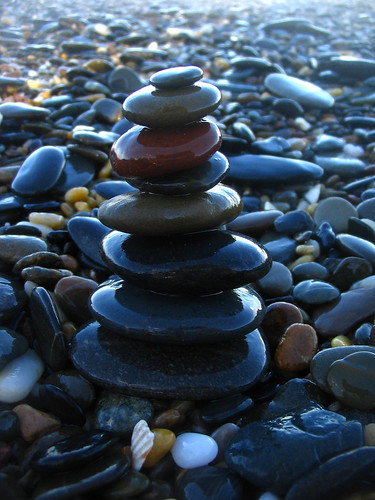 pebble stack | by *omnia*