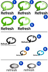 Refresh Logo Concepts | by Patrick Haney