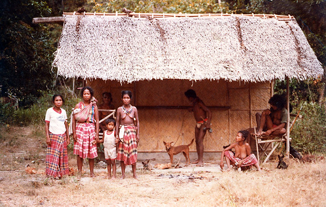 Tagbanua Native People Of Palawan Philippines Ca 1984