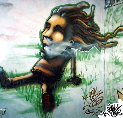 Rasta Graffiti Art Rasta Graffiti Characters