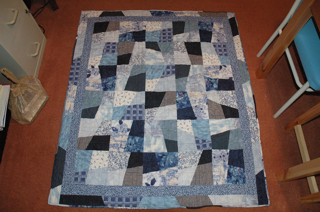 Grandma S Stack The Deck Quilt My Mom Asked Me To Make