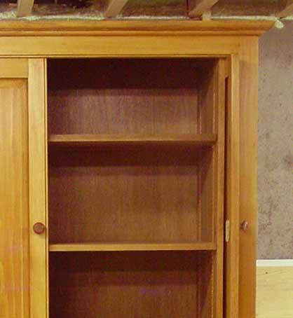 ... Pine Pocket Door Armoire | by entiredesign & Detail Pine Pocket Door Armoire | Custom Pine Armoire with \u2026 | Flickr