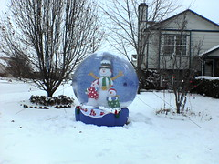 Snowglobe in Brian's Parents' Neighborhood | by Ching