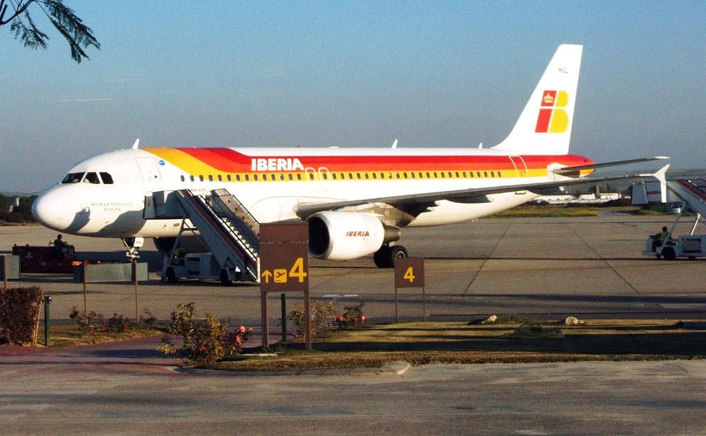 Iberia Xry Jerez De La Frontera Airport 500v