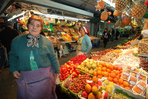 at the market just before christmas | by Alcino