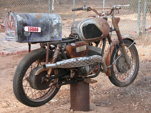 motorcycle mailbox | by -mrh