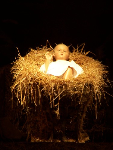 Close-up of baby Jesus | by wrenoud