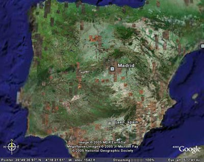 Spain Google Earth Ra 250 L Ord 243 241 Ez Flickr