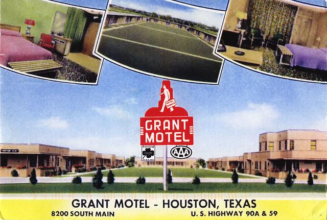 Grant motel south main houston r i p grant motor inn for A m motors houston tx