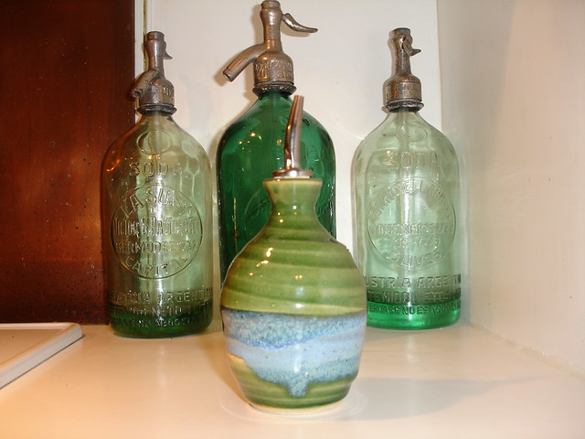 Cruet by Mosquito Mud Pottery, New Smyrna Beach FL