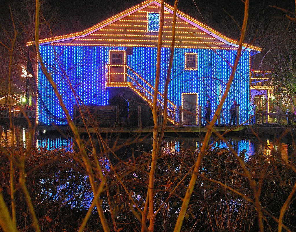 Christmas Lights Dollywood In Pigeon Forge Tn I