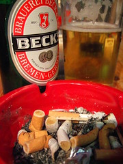 Beer & Ashtray / Bier & Aschenbecher | by Markus Merz