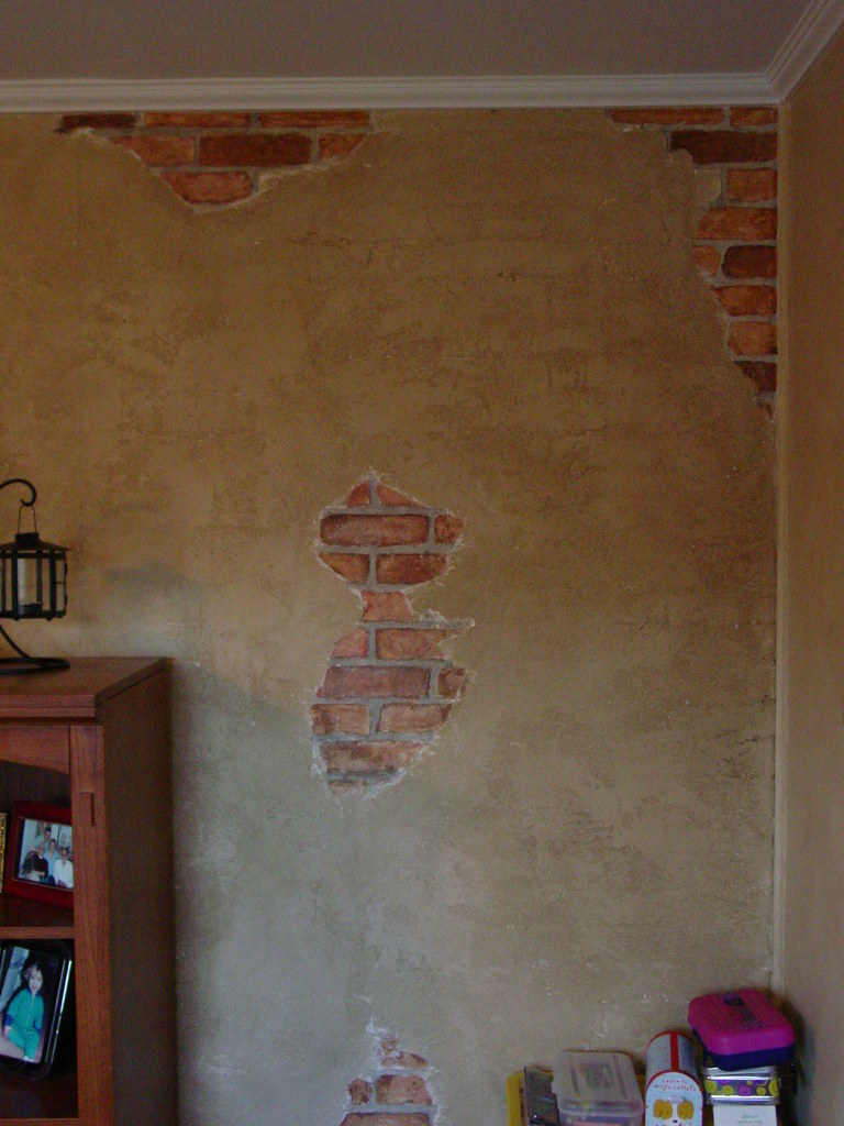 Faux brick wall doherty painting flickr A wall painting