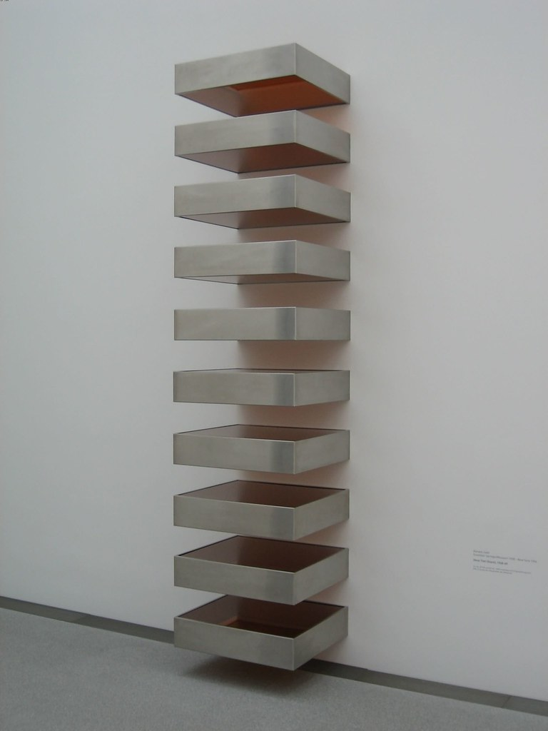 Donald judd ohne titel stack 1968 69 ohne titel for Donald judd stack 1972