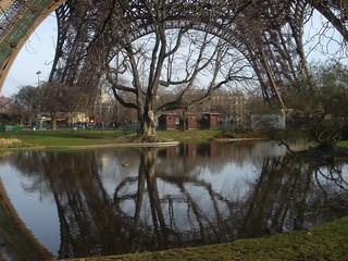 Eiffel Tower reflection | by gadl
