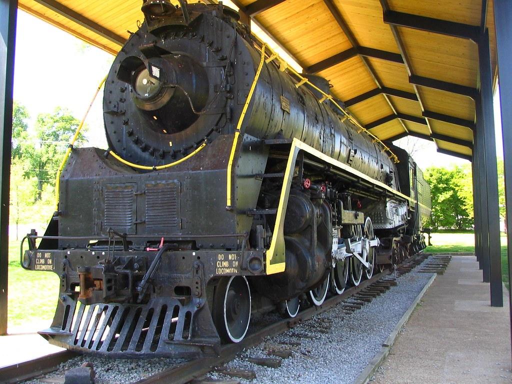 NC&StL Train, Centennial Park, Nashville | This is the NC ...