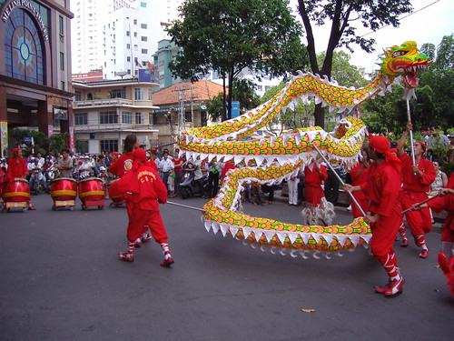 Traditional Dragon Dance | by NguyenTrung