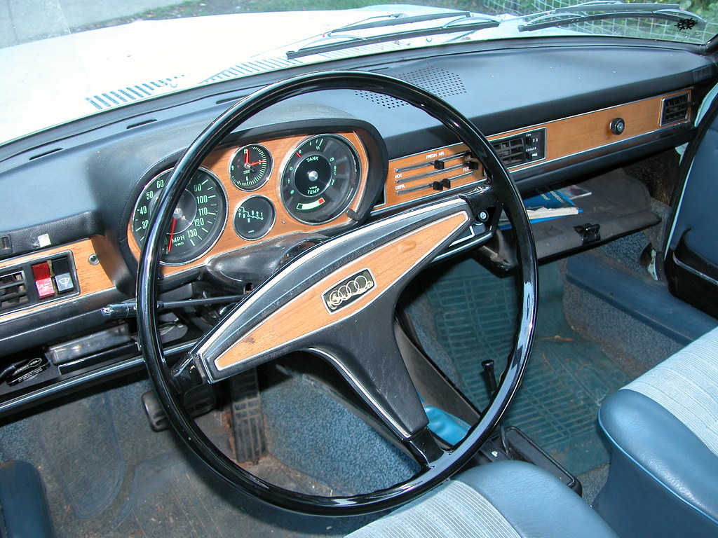My 1971 Audi 100ls Interior I Bought It In 2003 From The