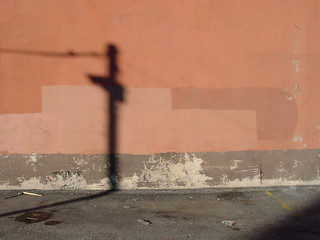Wall and shadow | by wardomatic