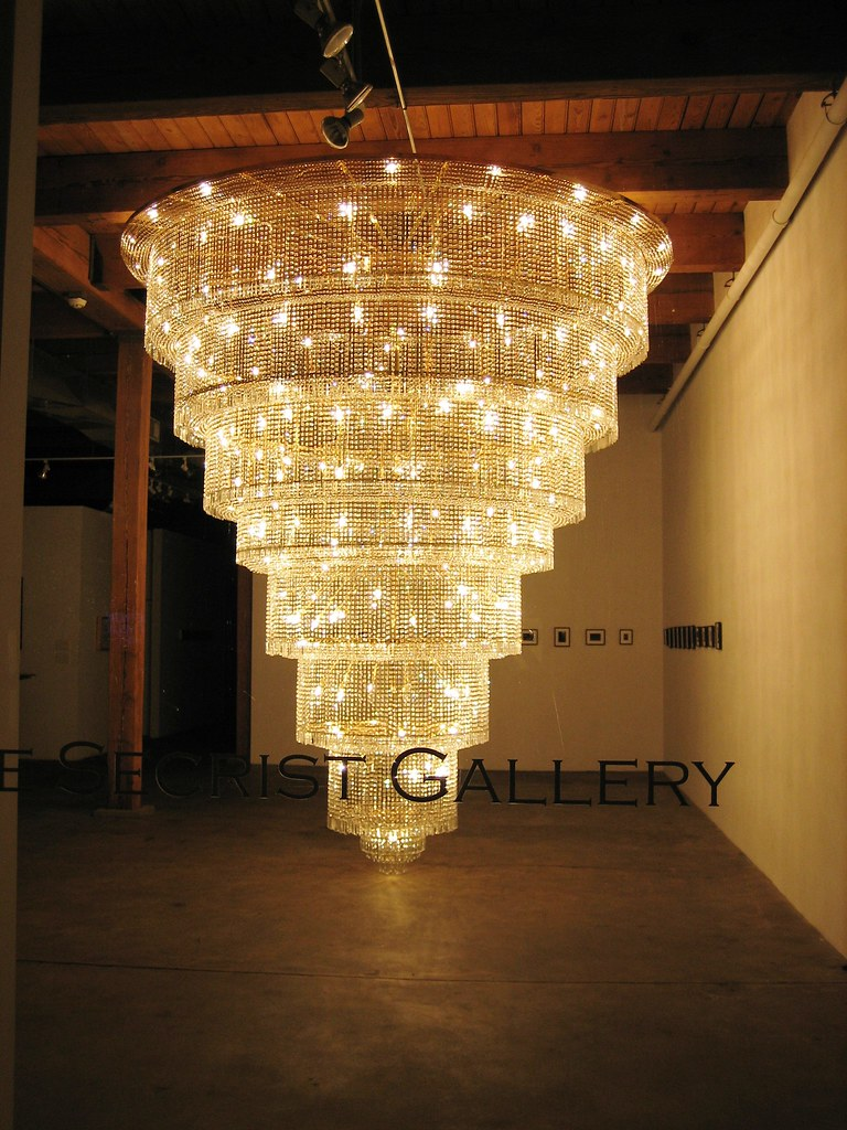 Giant Chandelier Carrie Secrist Gallery Chicago – Giant Chandeliers