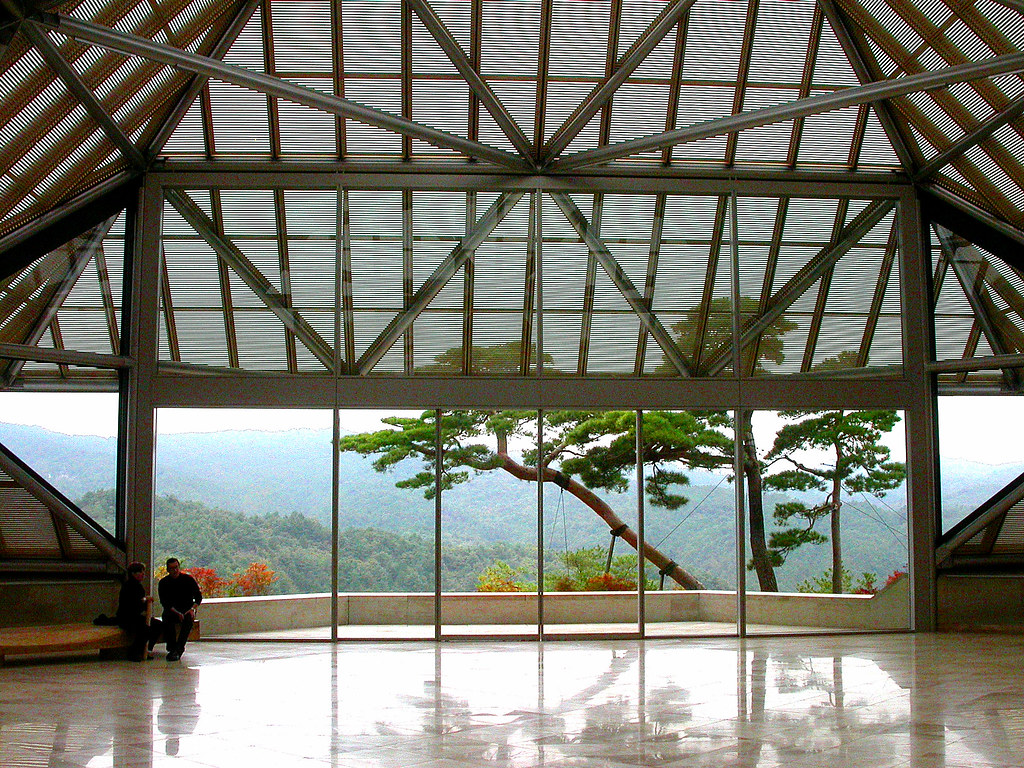 Miho Museum Entrance Hall John Weiss Flickr