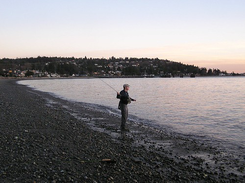 Puget sound fly fishing this was my first experience fly for Puget sound fishing