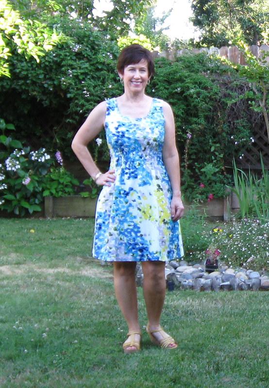 Vintage dress on me