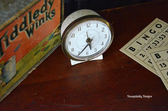 Vintage toys/clock-Housepitality Designs