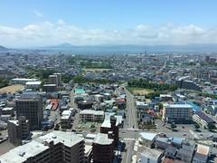 五稜郭タワーから景色