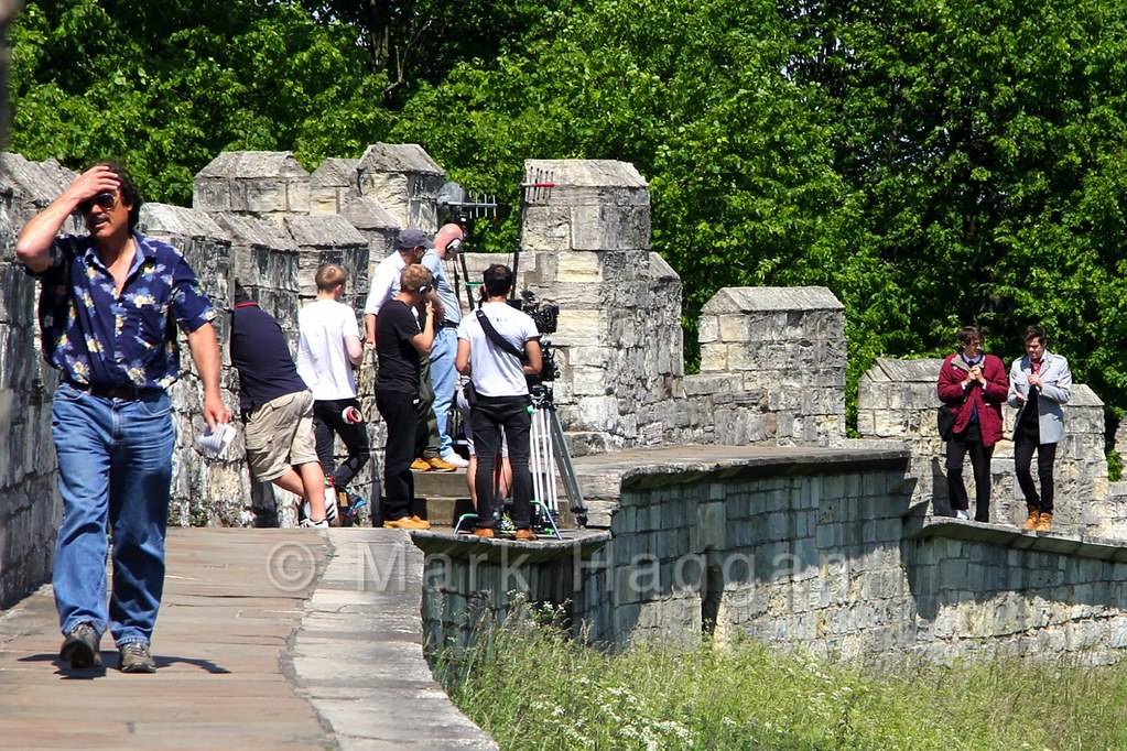 Filming Scott and Sid in York