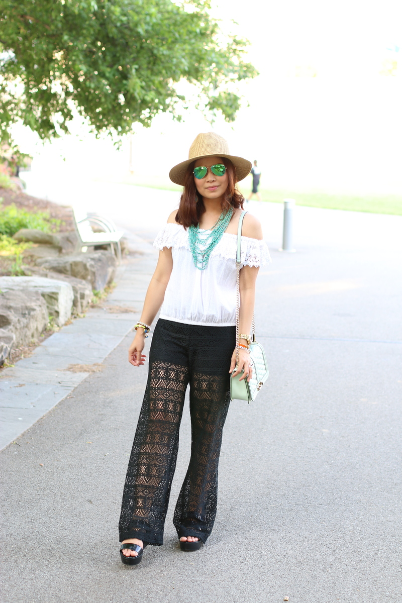 Summer-outfit-black-white-teal-5