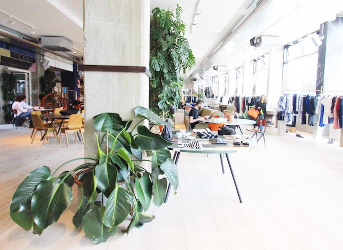 The Store Soho House Berlin giant plants