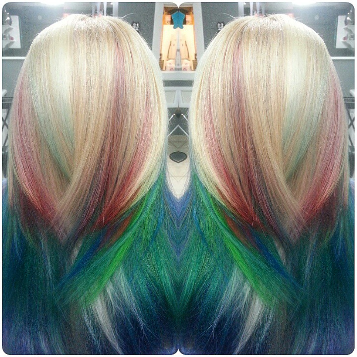Beta Fish Hair Color With Blonde Base Beta Fish Hair Color Flickr
