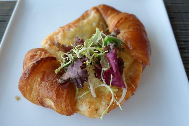 """Croque Monsieur"" on Croissant at Sky on 57, Marina Bay Sands"