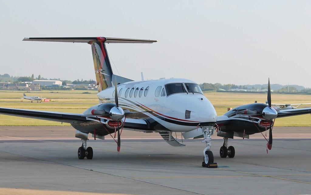 N175EU Beech 250 King Air | Beech 250 King Air N175EU at Cam… | Flickr