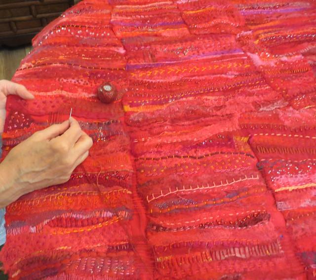 hand stitching full shot