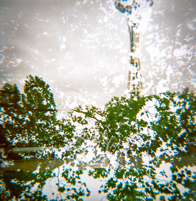 Double Exposure - Space Needle