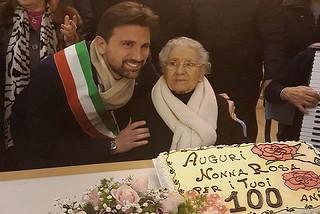 Noicattaro. Centenario Rosa Brattoli front