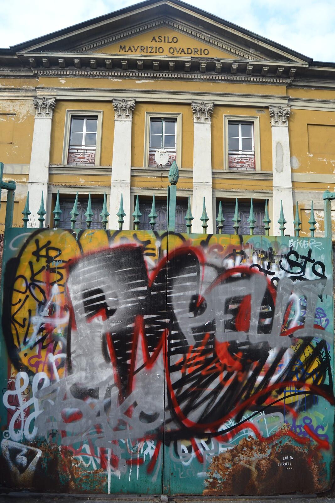 Milano, paseo con Leone. 26/01/2017 fotos de zeroanodino para URBANARTIMAÑA